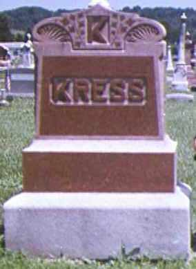 KRESS BURNETT, MARGARET A - Adams County, Ohio | MARGARET A KRESS BURNETT - Ohio Gravestone Photos