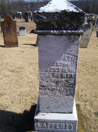 LAFFERTY, ELIZABETH - Adams County, Ohio   ELIZABETH LAFFERTY - Ohio Gravestone Photos