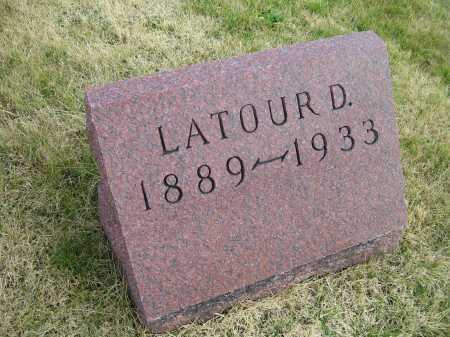 LAFFERTY, LATOUR D. - Adams County, Ohio | LATOUR D. LAFFERTY - Ohio Gravestone Photos