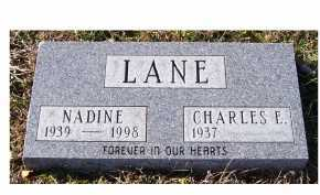 LANE, NADINE - Adams County, Ohio | NADINE LANE - Ohio Gravestone Photos
