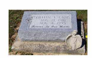 LANG, LILLIAN T. - Adams County, Ohio | LILLIAN T. LANG - Ohio Gravestone Photos