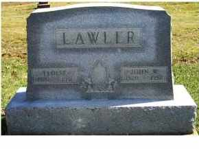 LAWLER, ELOISE - Adams County, Ohio | ELOISE LAWLER - Ohio Gravestone Photos