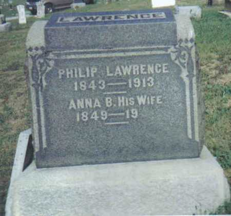LAWRENCE, PHILIP - Adams County, Ohio | PHILIP LAWRENCE - Ohio Gravestone Photos