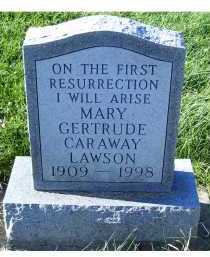 LAWSON, GERTRUDE - Adams County, Ohio | GERTRUDE LAWSON - Ohio Gravestone Photos
