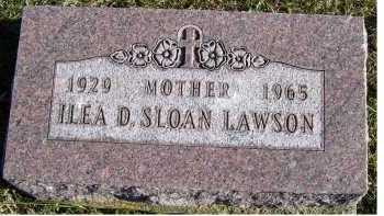 LAWSON, ILEA D. - Adams County, Ohio | ILEA D. LAWSON - Ohio Gravestone Photos