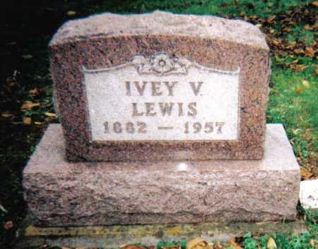 LEWIS, IVEY V. - Adams County, Ohio | IVEY V. LEWIS - Ohio Gravestone Photos