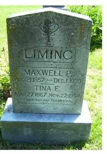 LIMING, MAXWELL P. - Adams County, Ohio | MAXWELL P. LIMING - Ohio Gravestone Photos