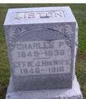 LISTON, CHARLES P. - Adams County, Ohio | CHARLES P. LISTON - Ohio Gravestone Photos