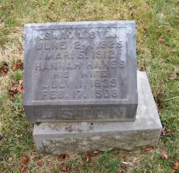 LISTON, ISAAC - Adams County, Ohio | ISAAC LISTON - Ohio Gravestone Photos