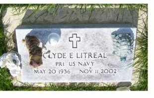 LITREAL, CLYDE E. - Adams County, Ohio | CLYDE E. LITREAL - Ohio Gravestone Photos