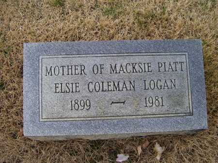 COLEMAN LOGAN, ELSIE - Adams County, Ohio | ELSIE COLEMAN LOGAN - Ohio Gravestone Photos