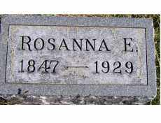 MAHAFFEY, ROSANNA E. - Adams County, Ohio | ROSANNA E. MAHAFFEY - Ohio Gravestone Photos