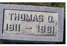 MAHAFFEY, THOMAS O. - Adams County, Ohio | THOMAS O. MAHAFFEY - Ohio Gravestone Photos