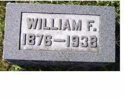 MAHAFFEY, WILLIAM F. - Adams County, Ohio | WILLIAM F. MAHAFFEY - Ohio Gravestone Photos