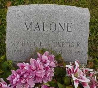 MALONE, CURTIS R. - Adams County, Ohio | CURTIS R. MALONE - Ohio Gravestone Photos