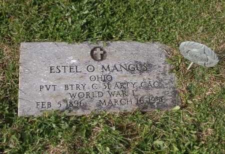 MANGUS, ESTEL O - Adams County, Ohio | ESTEL O MANGUS - Ohio Gravestone Photos