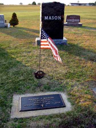 MASON, DANNY J - Adams County, Ohio | DANNY J MASON - Ohio Gravestone Photos