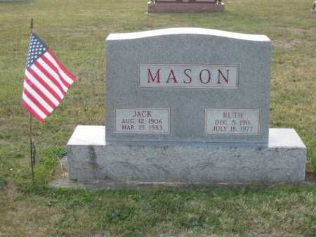 MASON, JACK - Adams County, Ohio | JACK MASON - Ohio Gravestone Photos