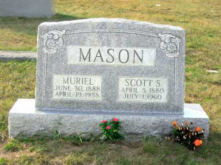 MASON, SCOTT S. - Adams County, Ohio | SCOTT S. MASON - Ohio Gravestone Photos