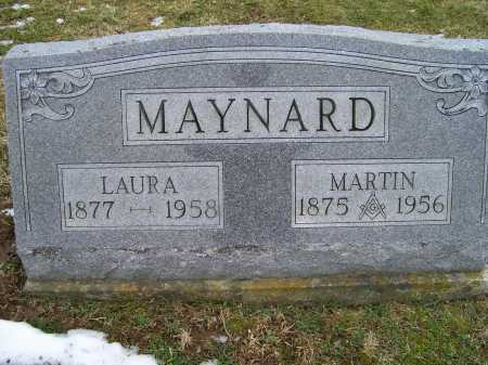 MAYNARD, LAURA - Adams County, Ohio | LAURA MAYNARD - Ohio Gravestone Photos