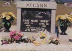 MCCANN, GARY MARK - Adams County, Ohio | GARY MARK MCCANN - Ohio Gravestone Photos