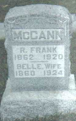 MCCANN, BELLE - Adams County, Ohio | BELLE MCCANN - Ohio Gravestone Photos