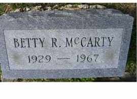 MCCARTY, BETTY R. - Adams County, Ohio | BETTY R. MCCARTY - Ohio Gravestone Photos