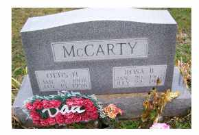 MCCARTY, OTTIS H. - Adams County, Ohio | OTTIS H. MCCARTY - Ohio Gravestone Photos