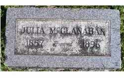MCCLANAHAN, JULIA - Adams County, Ohio | JULIA MCCLANAHAN - Ohio Gravestone Photos