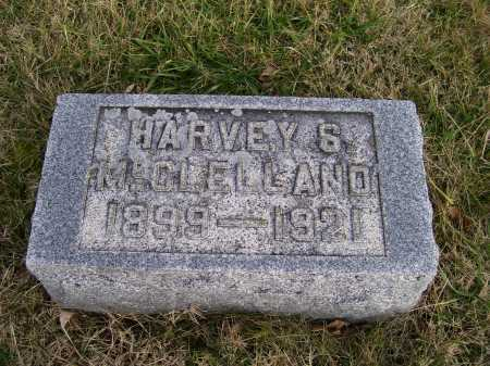 MCCLELLAND, HARVEY S. - Adams County, Ohio | HARVEY S. MCCLELLAND - Ohio Gravestone Photos