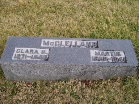 MCCLELLAND, CLARA D. - Adams County, Ohio | CLARA D. MCCLELLAND - Ohio Gravestone Photos