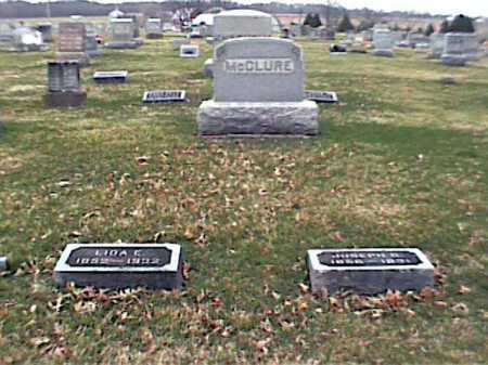 MCCLURE, JOSEPH - Adams County, Ohio | JOSEPH MCCLURE - Ohio Gravestone Photos