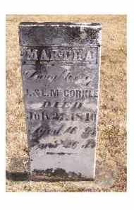 MCCORKLE, MARTHA - Adams County, Ohio | MARTHA MCCORKLE - Ohio Gravestone Photos