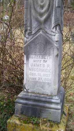 MCCORMICK, ELIZABETH - Adams County, Ohio | ELIZABETH MCCORMICK - Ohio Gravestone Photos