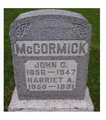 MCCORMICK, JOHN C. - Adams County, Ohio | JOHN C. MCCORMICK - Ohio Gravestone Photos