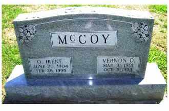 MCCOY, O. IRENE - Adams County, Ohio | O. IRENE MCCOY - Ohio Gravestone Photos