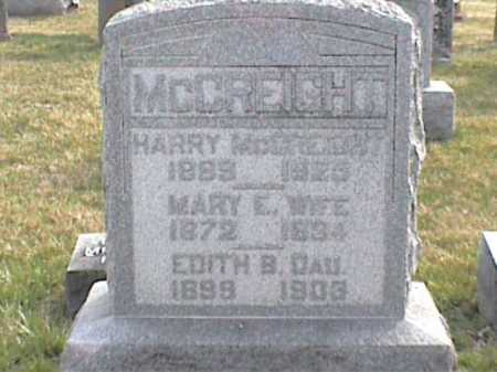 MCCREIGHT, HARRY - Adams County, Ohio | HARRY MCCREIGHT - Ohio Gravestone Photos