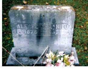 MCDANIEL, ALFRED - Adams County, Ohio | ALFRED MCDANIEL - Ohio Gravestone Photos