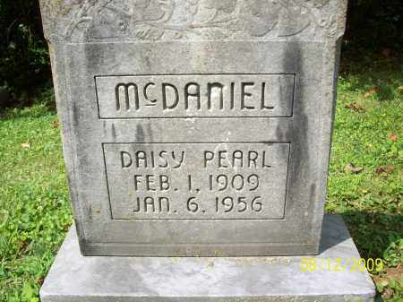 MCDANIEL, DAISY PEARL - Adams County, Ohio | DAISY PEARL MCDANIEL - Ohio Gravestone Photos