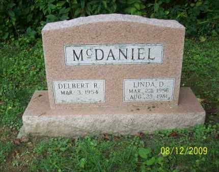 MCDANIEL, LINDA D - Adams County, Ohio | LINDA D MCDANIEL - Ohio Gravestone Photos