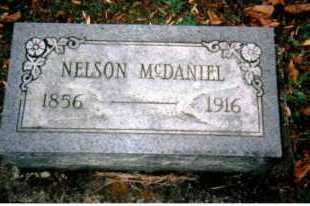 MCDANIEL, NELSON - Adams County, Ohio | NELSON MCDANIEL - Ohio Gravestone Photos