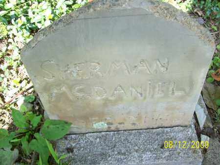 MCDANIEL, SHERMAN - Adams County, Ohio | SHERMAN MCDANIEL - Ohio Gravestone Photos