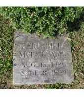 "MCFARLAND, CARL ""BILL"" - Adams County, Ohio   CARL ""BILL"" MCFARLAND - Ohio Gravestone Photos"
