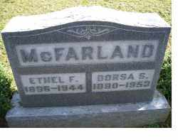 MCFARLAND, DORSA S. - Adams County, Ohio | DORSA S. MCFARLAND - Ohio Gravestone Photos