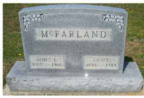 MCFARLAND, JAMES E. - Adams County, Ohio | JAMES E. MCFARLAND - Ohio Gravestone Photos