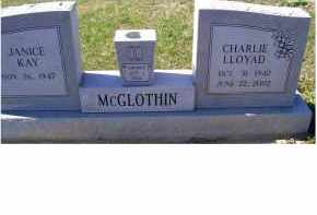 MCGLOTHIN, CHARLIE LLOYD - Adams County, Ohio | CHARLIE LLOYD MCGLOTHIN - Ohio Gravestone Photos