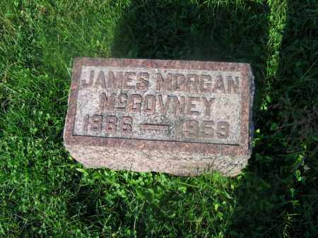 MCGOVNEY, JAMES MORGAN - Adams County, Ohio | JAMES MORGAN MCGOVNEY - Ohio Gravestone Photos