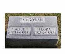 MCGOWAN, ALICE - Adams County, Ohio | ALICE MCGOWAN - Ohio Gravestone Photos
