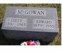 MCGOWAN, EDWARD - Adams County, Ohio | EDWARD MCGOWAN - Ohio Gravestone Photos
