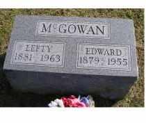 MCGOWAN, LEFTY - Adams County, Ohio | LEFTY MCGOWAN - Ohio Gravestone Photos